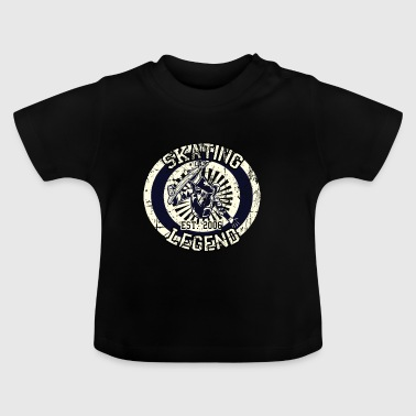 Skateboarder Skating Legende Board 2006 - Baby T-Shirt