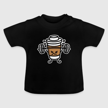 Strong coffee - lift workout - T-shirt Bébé