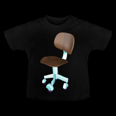 Office chair for office stallion - Baby T-Shirt