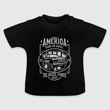 Runs On Diesel - Baby T-Shirt