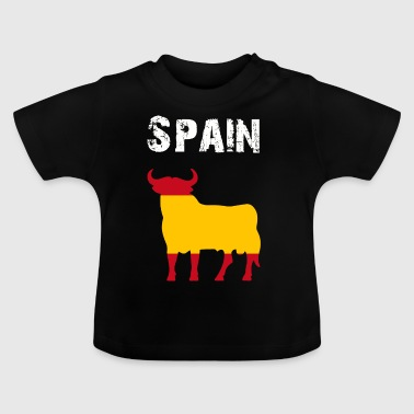 Nation Design Spain Bull WPHW - Baby T-Shirt