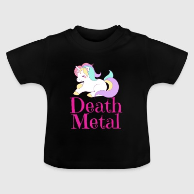 Death Metal Unicorn Unicorn - Camiseta bebé