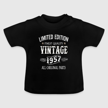 Limited Edition Made In 1957 Vintage Original - Baby T-Shirt