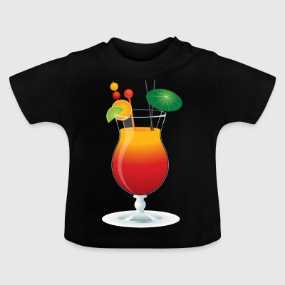 Summer Cocktail Time! - Camiseta bebé