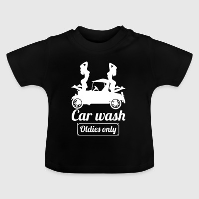 carwasholdies wite - T-shirt Bébé