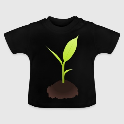 ättling Illustration - Baby-T-shirt