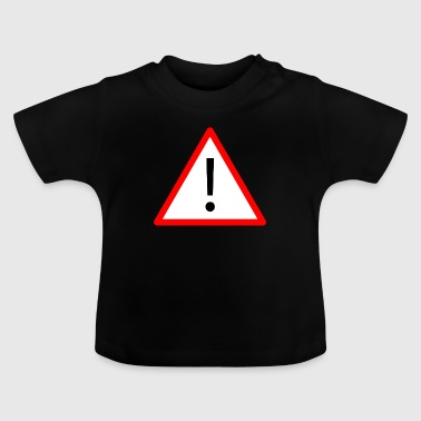 Attention! - T-shirt Bébé
