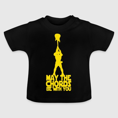 May the chords be with you (Yellow) - Baby T-Shirt
