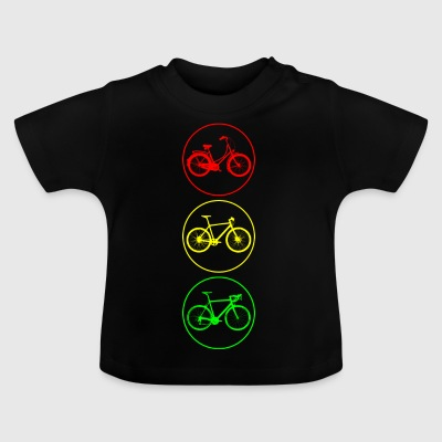 Bicycle traffic lights - Baby T-Shirt