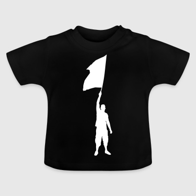 supporter / fotboll fläktar Ultra Flag Association - Baby-T-shirt
