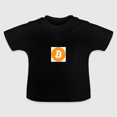 Bitcoin ORANGE - T-shirt Bébé