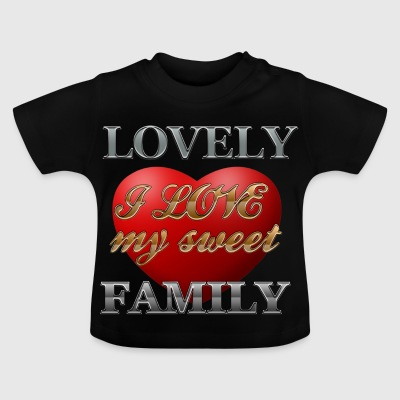 sweet_family - Baby-T-shirt