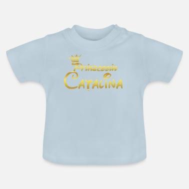 27c35066e35d8 Catalina PRINCESS PRINCESS QUEEN CADEAU Catalina - T-shirt Bébé