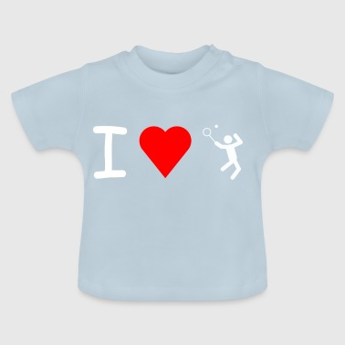 I love Tennis - T-shirt Bébé