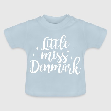 Little Italy Little miss Denemarken - Baby T-shirt