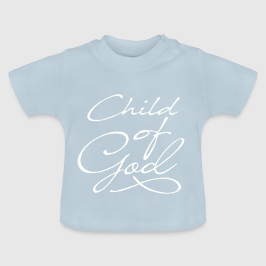 Child of God in white - Baby T-Shirt