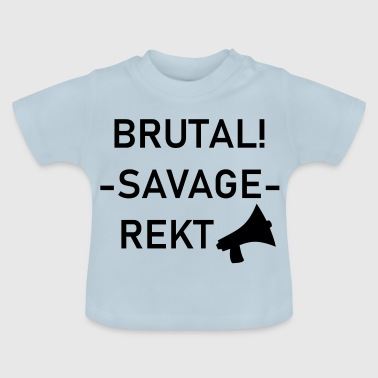 Brutal Savage Rect - Baby T-Shirt