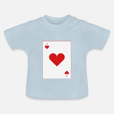 Cards poker card - Baby-T-shirt