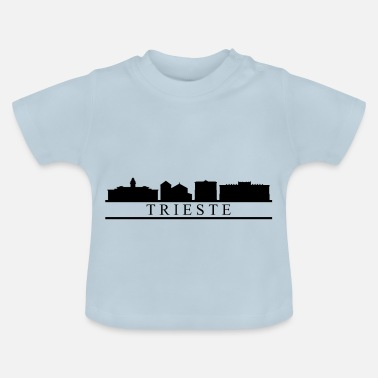 Triest trieste skyline - Baby T-shirt