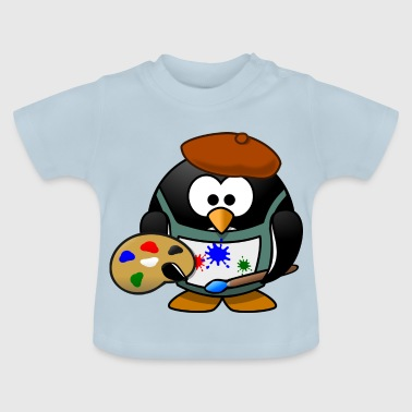 Painter Tux - Baby T-Shirt