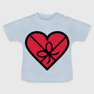 Chocolate box in heart shape - Baby T-Shirt