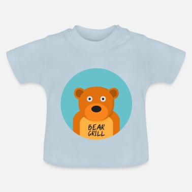 Officialbrands T-Shirt Bear Grill - Maglietta per neonato