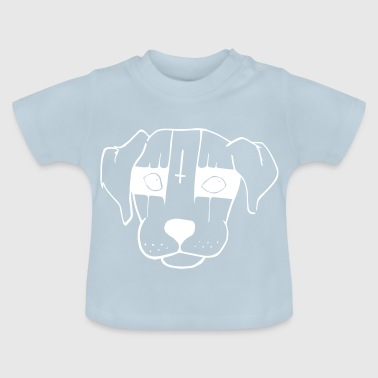 Black Metal Hund - Baby T-Shirt