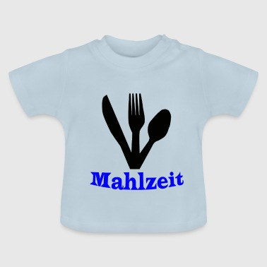 Knife, fork and spoon - meal - Baby T-Shirt