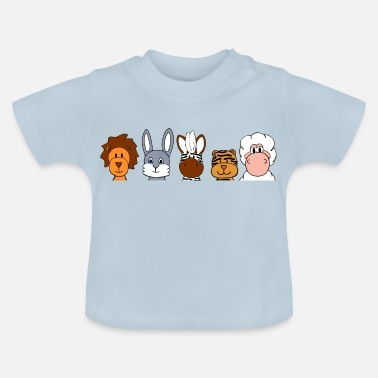 Group animal funny group - Baby T-Shirt