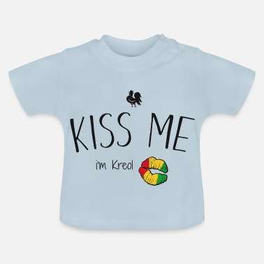 Martinique kiss me i'm kreol - T-shirt Bébé