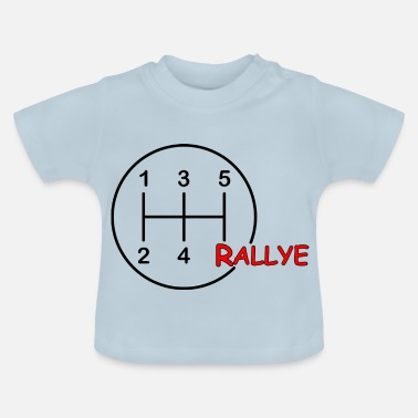 Rally Motorsport gearshift rally - Baby T-Shirt