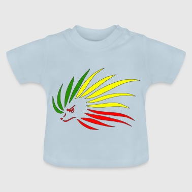 Rasta Hedgehog - Baby T-Shirt