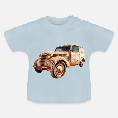 Transport Oldtimer Transporter - T-shirt Bébé