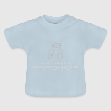 DSGVO - Europa Satire - Baby T-Shirt