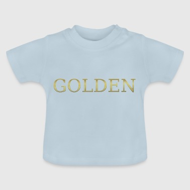 gold golden sweet gold gold gold heart - Baby T-Shirt