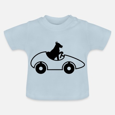 Drivers License car driver license fast dog cute su - Baby T-Shirt