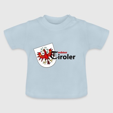 real Tirol Tyrol coat of arms gift idea man - Baby T-Shirt