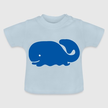 whale24 - Baby-T-shirt