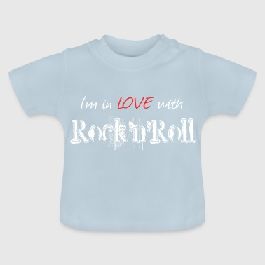 Rock n Roll White - Baby T-shirt