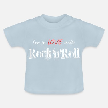 Rock N Roll Rock n Roll White - Baby T-shirt