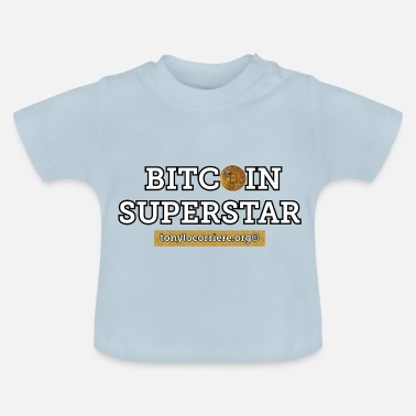 Superstar bitcoin superstar - Baby-T-shirt