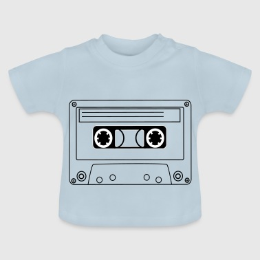 Hip Oldschool Hip Hop kassett - Baby-T-shirt