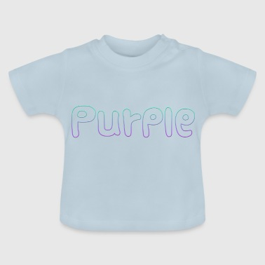 Purple Codein Syrup Soundcloud Rapper XXXTentacion - Baby T-Shirt