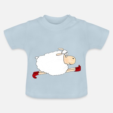 Isabelle Sheep Isabell is running fast - Baby T-Shirt
