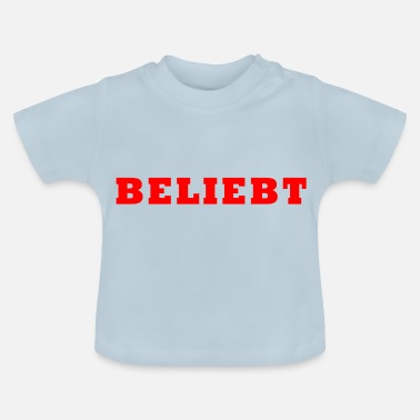Populaire populair - Baby T-shirt