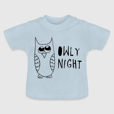 Gute Nachteule - Baby T-Shirt