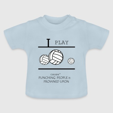 Volley-ball, beach-volley, les filles de volley-ball - T-shirt Bébé