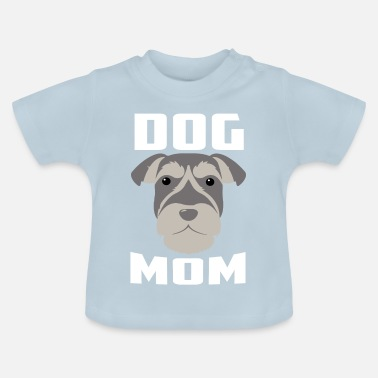 Best Mom Best Dog Mom Gift - Baby-T-shirt
