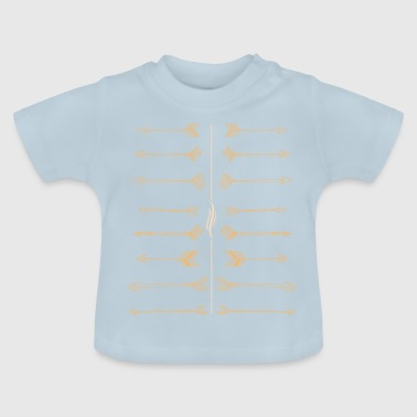 Pile i lyse farver - Baby T-shirt