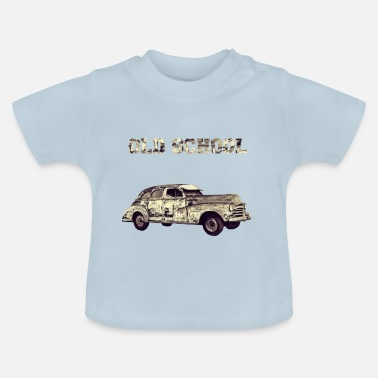 Old School old school - Baby-T-shirt